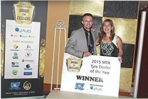 - 2015 Winner MTA State Award