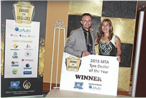 - 2015 Winner MTA State Award